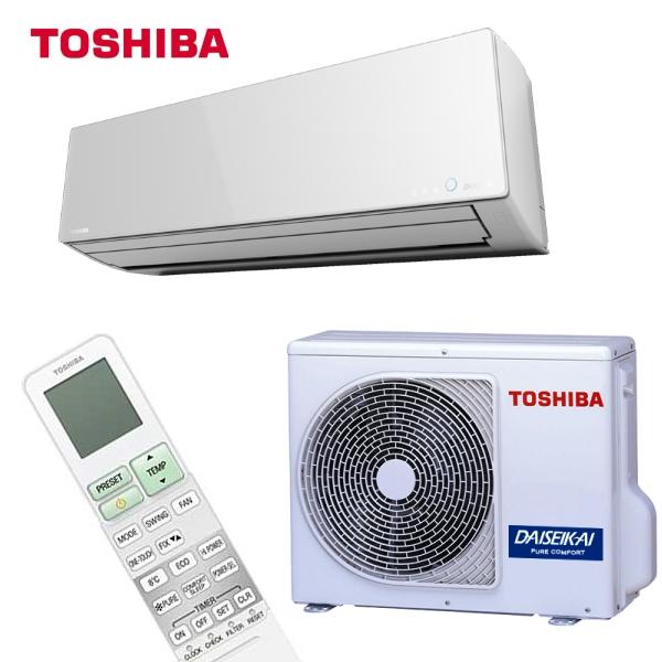 Toshiba Daiseikai 8 har en suveren avgitt varmeeffekt ved lave utetemperaturer.